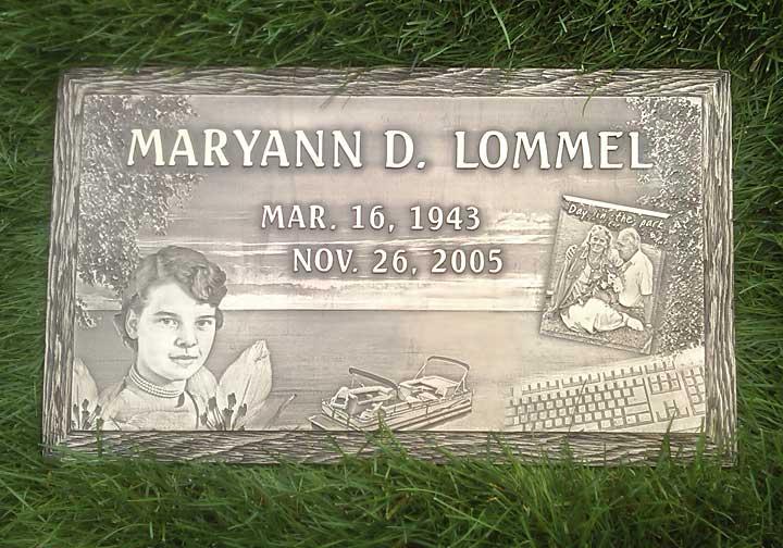Bronze Markers - Kotecki Family Memorials