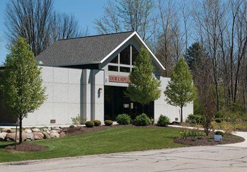 Calvary Cemetery Memorials Lorain Ohio - Our Lady Of Guadalupe Mausoleum - Kotecki Family Memorials
