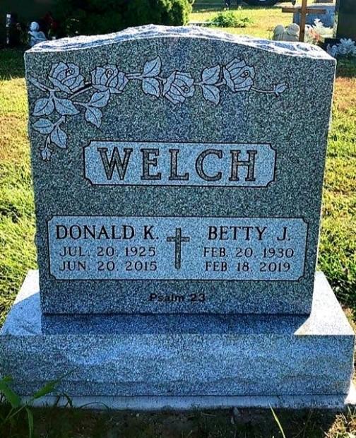 Upright Sin Monument - WELSH - Kotecki Family Memorial